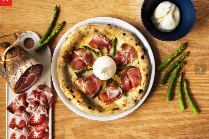 Le nuove pizze di Eataly