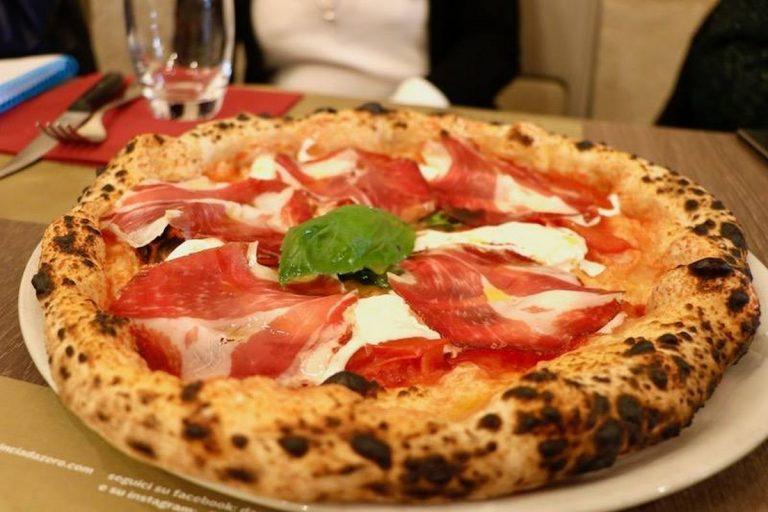 Pizza della Pizzeria Da Zero a Milano