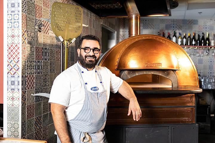 Luca Platania della Pizzeria Luca