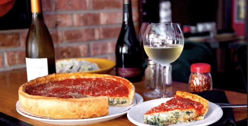 Deep Dish Pizza - Chicago