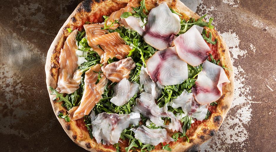 La pizza di Grotta Azzurra