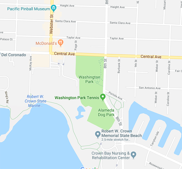 alameda map washington