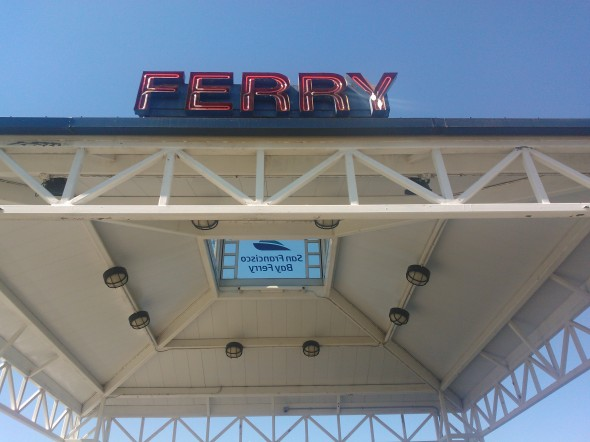 Ferry from Jack London Square to San Francisco