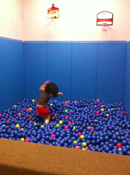 Play Cafe ball pit