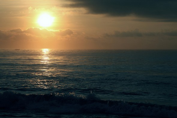 ocean photo by Vinoth Chandar