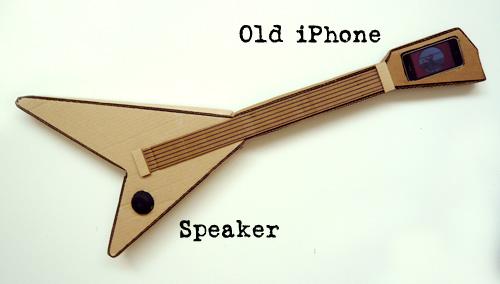 Paper Mache Guitar