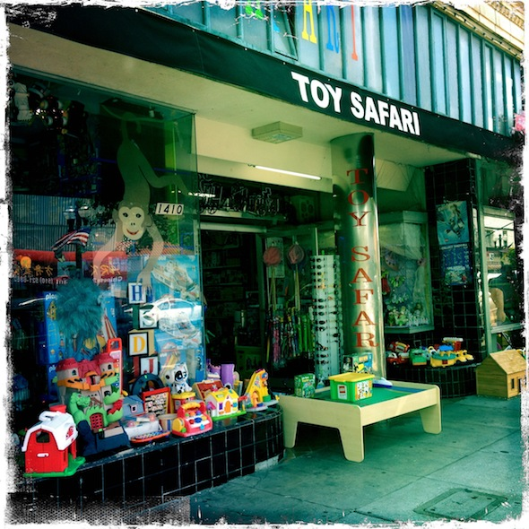 Toy Safari mega toy store with resale in Alameda