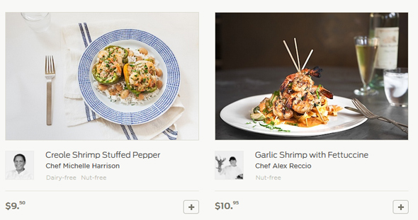 Munchery, Bay Area food delivery