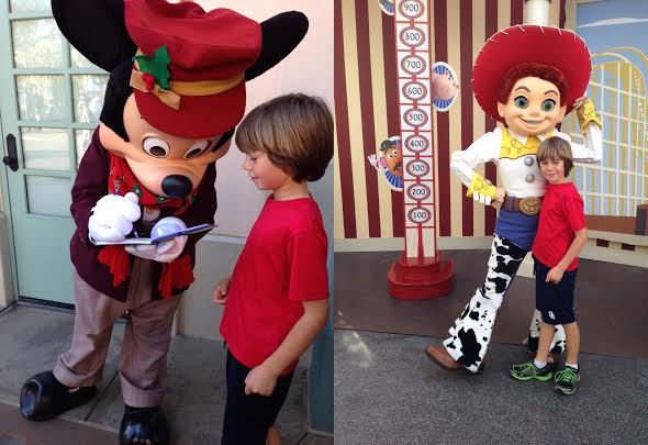Characters and other non-ride favorite features of Disneyland