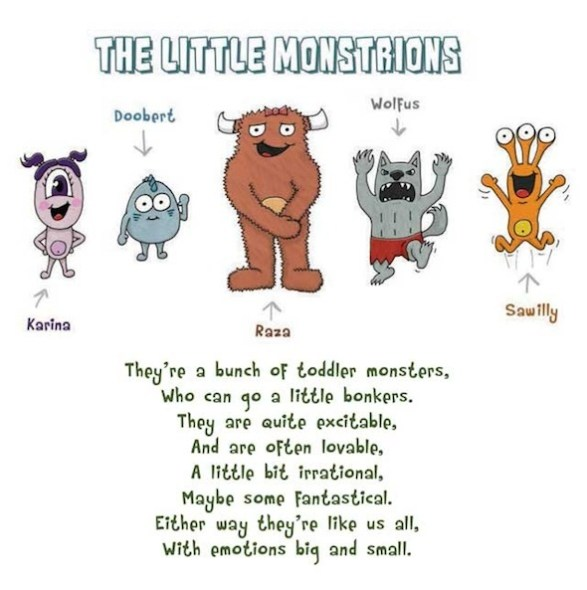 Little monstrions and (510) Family Faves with children's author Ben Brunetti