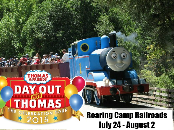 Thomas Celebration Tour 2015 will be at Roaring Camp