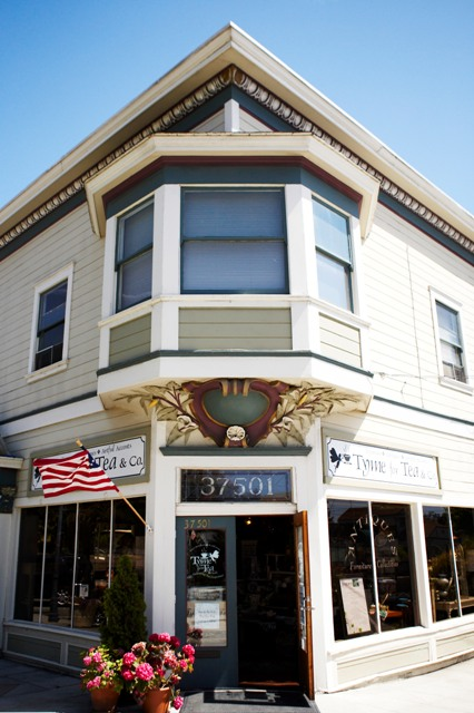 Tyme for Tea & Co. in Fremont's historic Niles district.