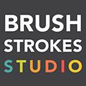 Brushstrokes Studio birthday party