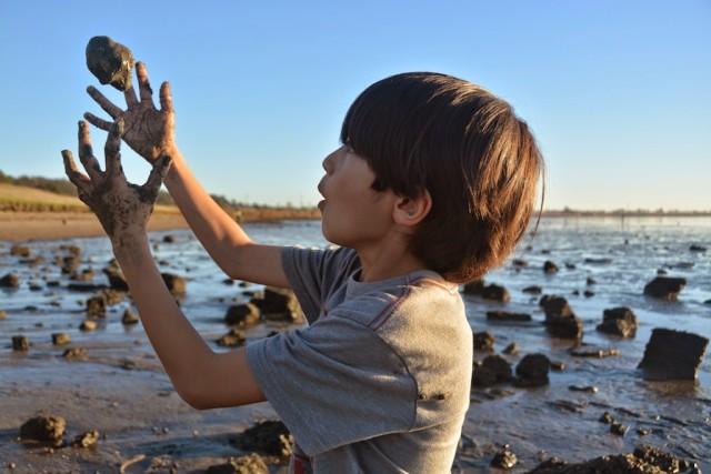 Point Pinole Regional Shoreline with kids
