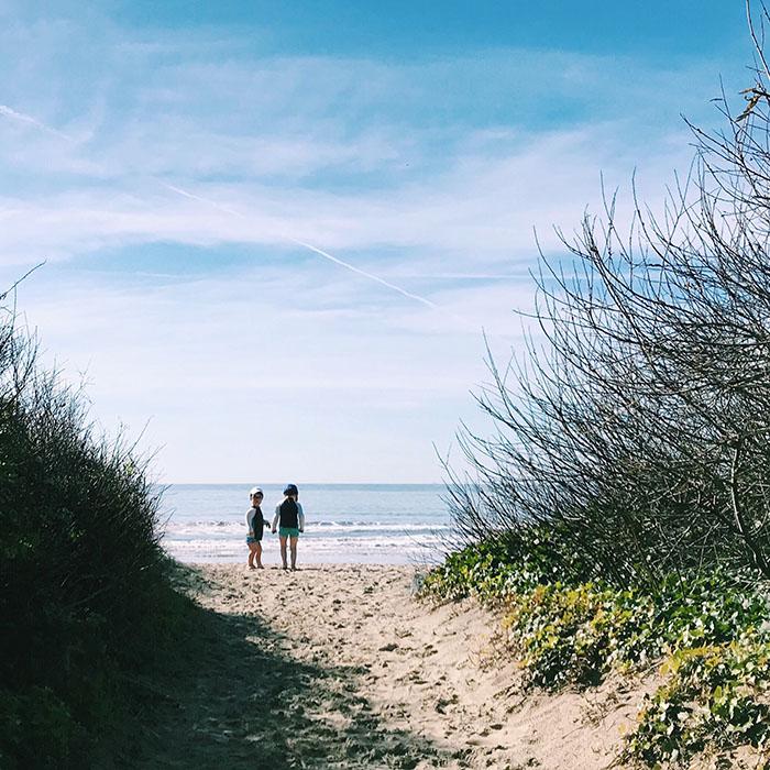Stinson Beach with kids