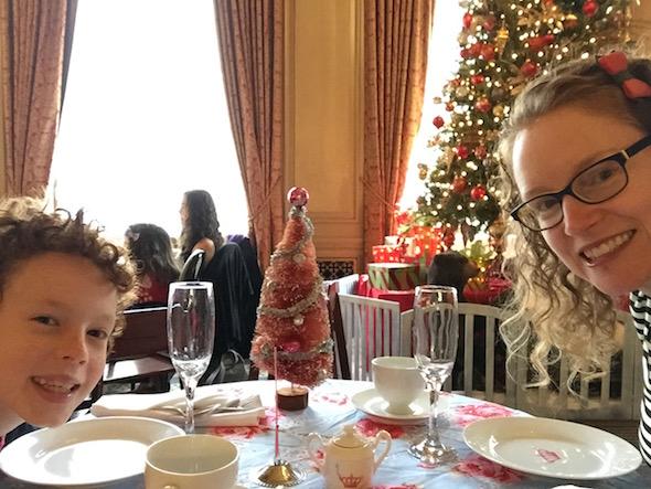 Christmas Tea at Sir Francis Drake