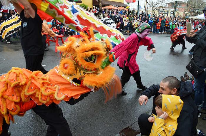 Lunar New Year on Fourth Street