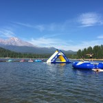 Inflatables in Lake Siskiyou