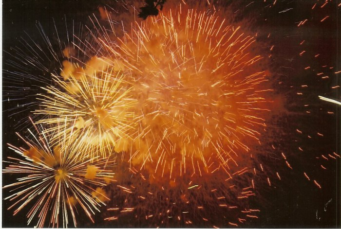 Fireworks in Berkeley