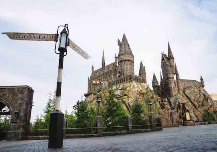 Hogwarts Castle at Universal Studios Hollywood