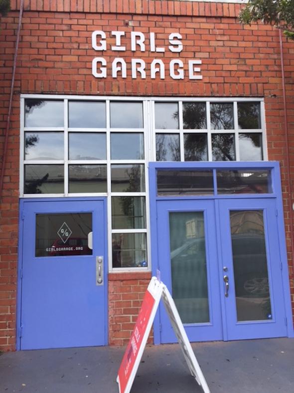 Girls Garage in West Berkeley