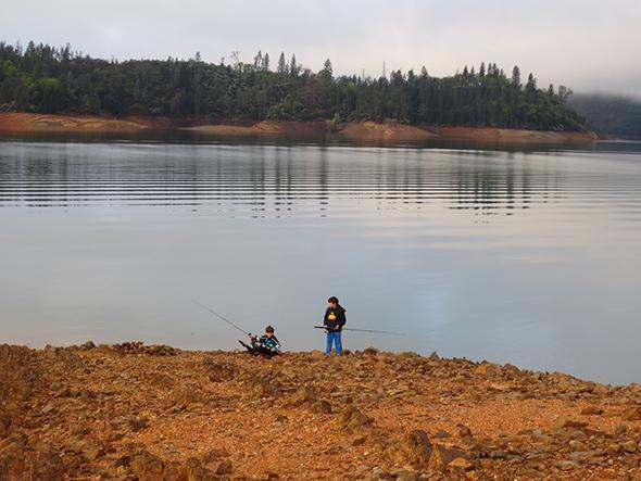 fishing shasta lake