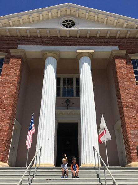 Benecia Capitol Building Steps