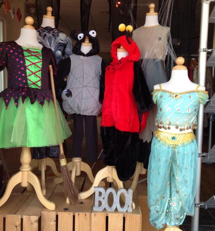 Halloween comes to Grove Street Kids consignment shop