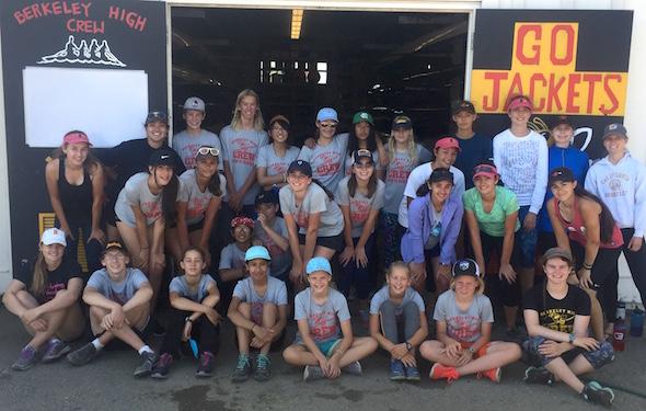 Berkeley High School Crew team
