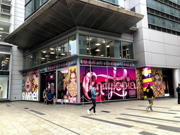 Candytopia SF is now open on Market St