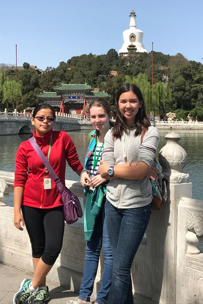 Shu Ren International School middle school students