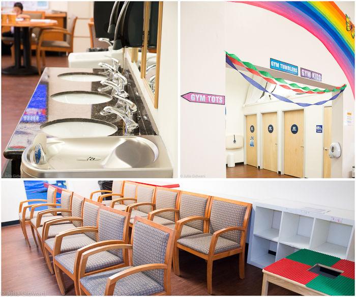 Head Over Heels preschool gymnastics facilities