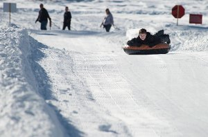 Soda Springs: Tubing and First-time Skiing