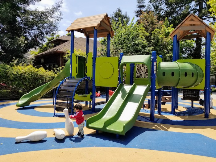 Becky Temko Tot Park play structure