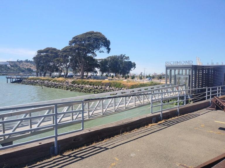 Richmond, CA ferry terminal