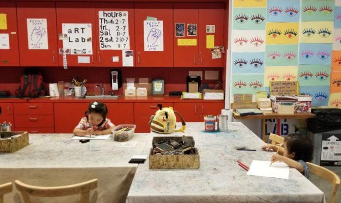 BAMPFA ART STUDIO