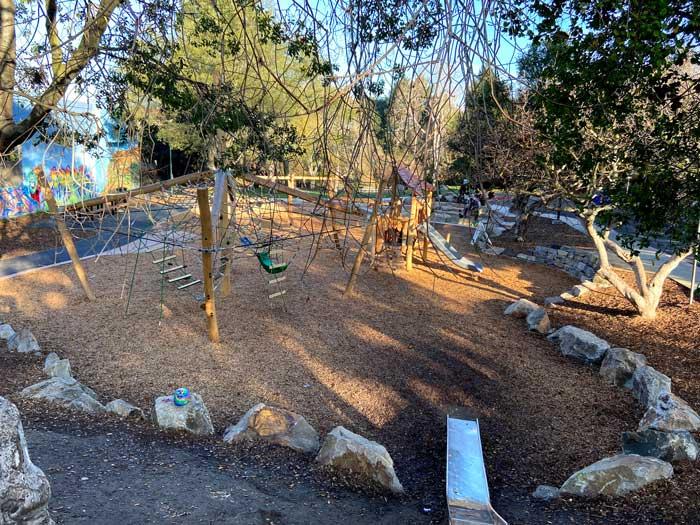 Strawberry creek playground