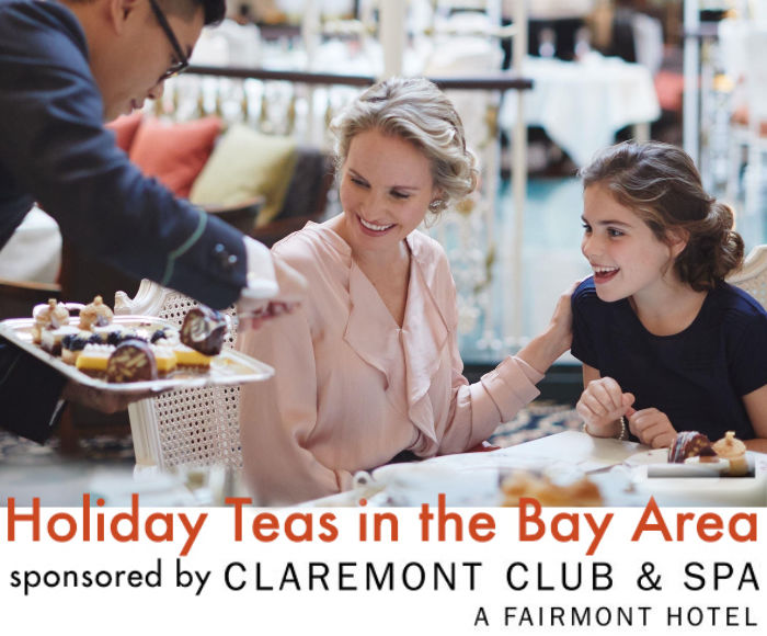Guide to Christmas tea service in the bay area