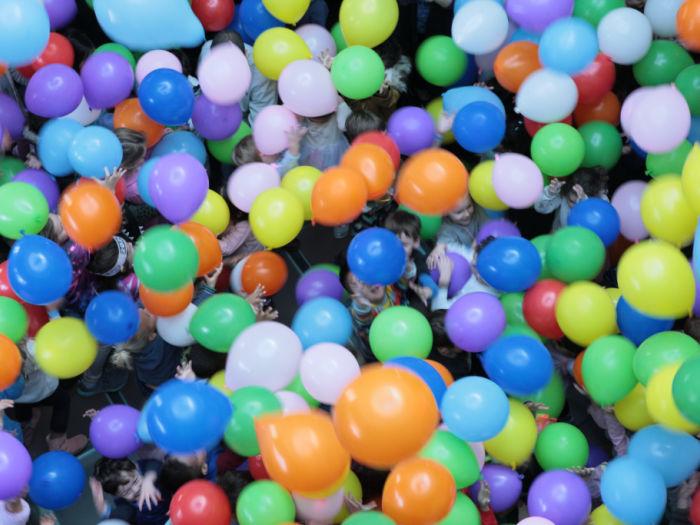 balloon drop at chabot