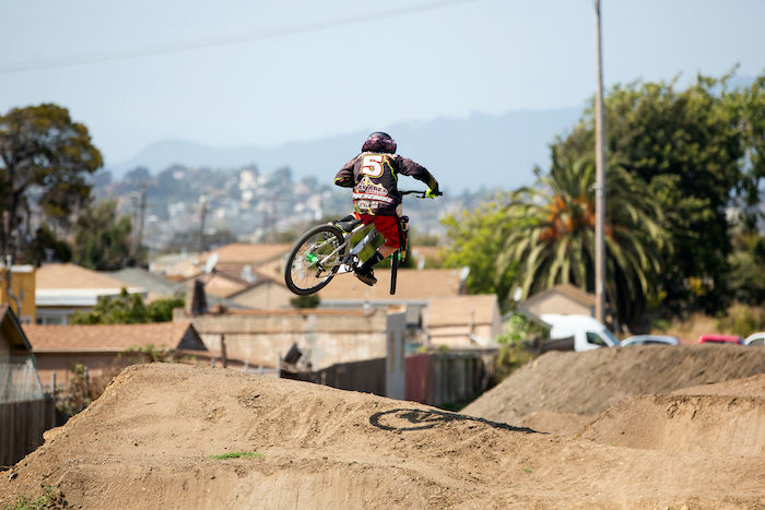 Get some air on the terrain at dirt world