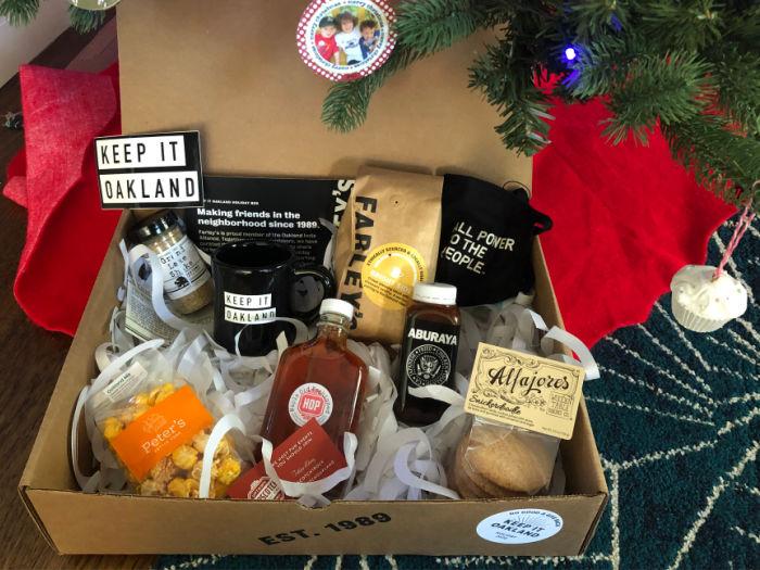 Farley's Keep it Oakland gift box