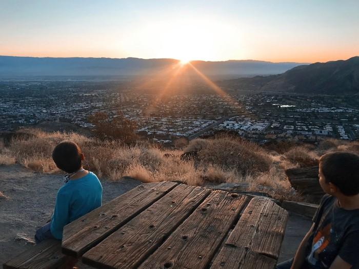 Palm-Springs-Sunrise