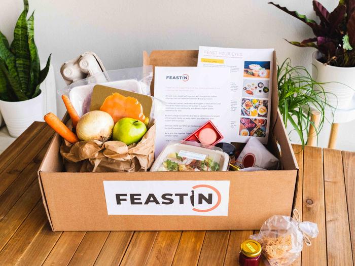 Feastin Delivery Box