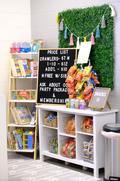 Entry at Kids Play Zone. | Photo: Julia Gidwani