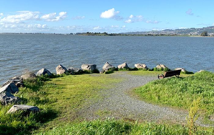 César Chávez Park shoreline