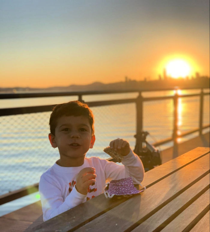 Sunsets and snacks on the pier