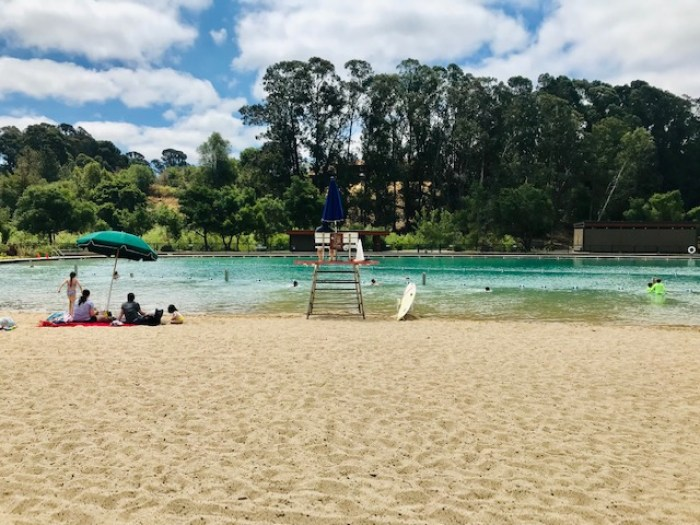 Swimming Laggon Beach