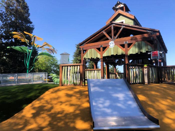 slide at park