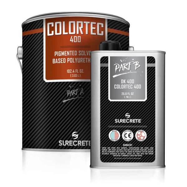 Colored Solvent-Based Polyurethane | ColorTec 400