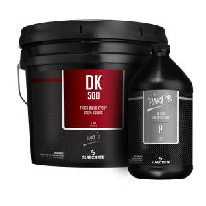 Premium Clear 100% Solid Epoxy Floor Coating | DK 500P